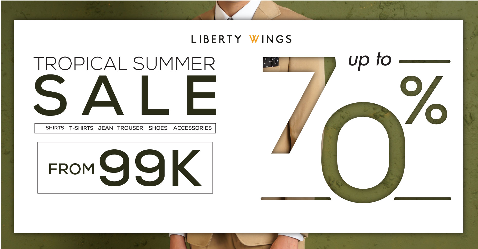liberty wings sale up to 70