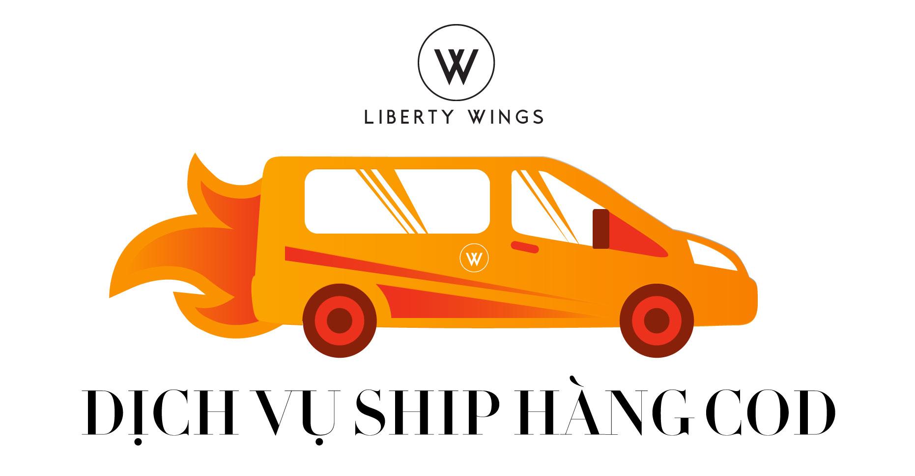 dịch vụ ship hàng cod của liberty wings