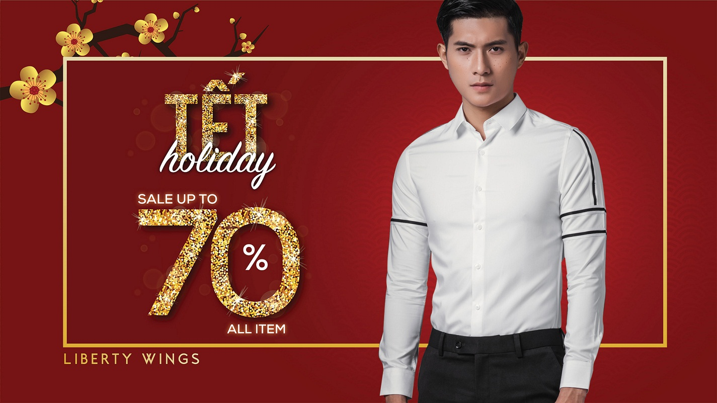 tết holiday sale liberty wings