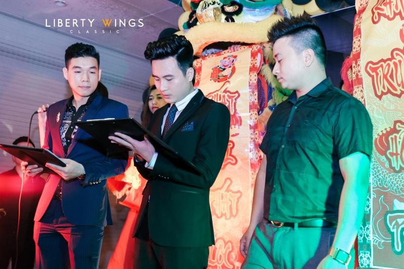 khai trương showroom liberty wings 258 phố huế
